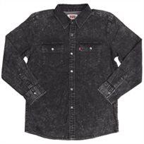 Levi's נוער // Modern Westren Shirt Black