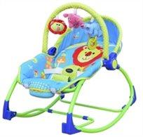 טרמפולינה לתינוק עם כיסא נדנדה 3 ב 1 - אריה