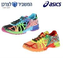 לתת יותר! נעלי ספורט לנשים דגם ASICS GEL NOOSA TRI 9, קלות משקל ומתאימות לריצה במגוון צבעים לבחירה