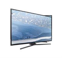 """טלוויזיה Samsung """"65 LED SMART 4K תמונה PQI 1300 תמיכה בשידור HDR מעבד 4 ליבות עידן פלוס UE65KU7000"""