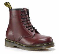 נעלי נשים Dr. Martens בעלות טכנולוגיית סוליית האוויר דגם 1460 8 Eye Boot דובדבן