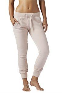 מכנסי טרנינג לנשים REEBOK דגם BQ3972 בצבע ורוד בהיר