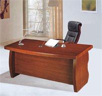 שולחן מנהל ארגונומי כולל ארגז מגירות דגם 3223