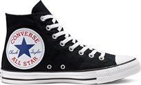 סניקרס קונברס גבוה נשים Chuck Taylor Big Logo שחור