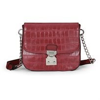 Guess נשים // Clem Mini Crossbody Wine
