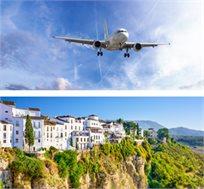 טיסות 'אייר אירופה' למלגה רק בכ-$412*