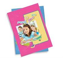אלבום תמונות בגודל A4 כרוך בכריכה קשה 32 עמודים