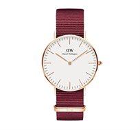 שעון יד אנלוגי לאישה Classic Roselyn רוז גולד - אדום