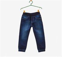 מכנסיים OVS במראה ג'ינס משופשף לילדים כחולות