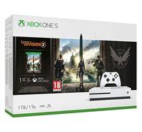 קונסולה Microsoft Xbox One S נפח 1TB+משחק  The Division 2 וחבילת מייסדים Apex Legends יבואן רשמי