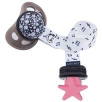 Baby Mitmit תופסן מעוצב למוצץ Happy Music- בזוקה