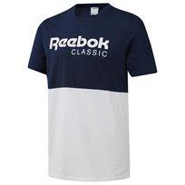 חולצת בייסיק Classics Graphic Tee נייבי - גברים Reebok
