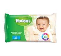 48 חבילות מגבוני Huggies ללא בישום לשמירה על עור עדין