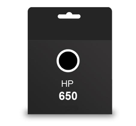 ראש דיו מקורי HP 650 שחור
