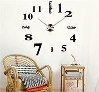 שעון קיר BRADEX תלת מימדי בעיצוב מודרני
