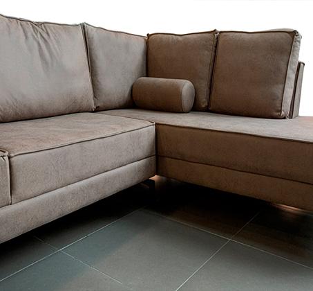 ספה פינתית גדולה דגם אלמאס בסגנון מודרני עכשווי במגוון צבעים וסוגי בד לבחירה VITORIO DIVANI - משלוח חינם - תמונה 5