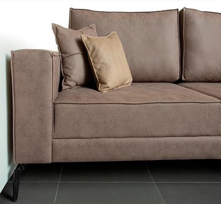 ספה פינתית גדולה דגם אלמאס בסגנון מודרני עכשווי במגוון צבעים וסוגי בד לבחירה VITORIO DIVANI - משלוח חינם - תמונה 2