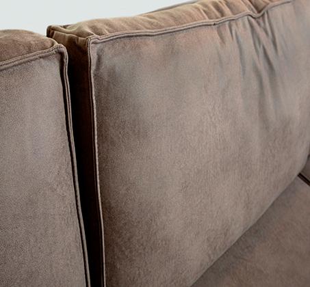 ספה פינתית גדולה דגם אלמאס בסגנון מודרני עכשווי במגוון צבעים וסוגי בד לבחירה VITORIO DIVANI - משלוח חינם - תמונה 4