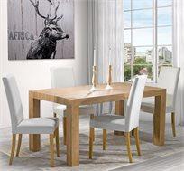 סט פינת אוכל דגם בונטון ביתילי הכולל שולחן ו-4 כיסאות דגם טוני