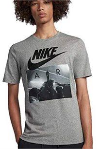 חולצת טי שירט לגברים - אפור