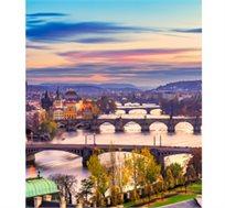 """חבילת נופש ל-2-4 לילות בפראג כולל טיסות אל על 'UP' ומלון לבחירה ע""""ב לינה וא.בוקר החל מכ-$242* לאדם!"""