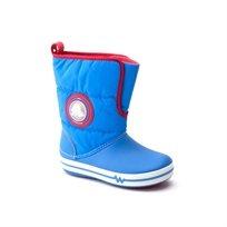 CrocsLights Gust Boot PS - מגף לילדים בצבע כחול עם אורות