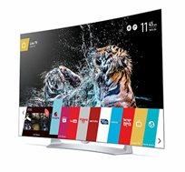 """מתצוגה טלוויזיה LG מסך """"55 קעורה- משלוח והתקנה חינם!"""