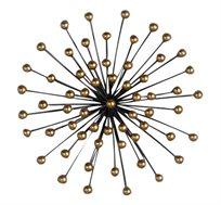 קישוט קיר כדוריות זהב בגדלים לבחירה
