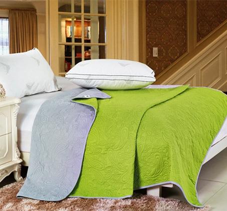 שמיכה קיצית דו צדדית במגוון צבעים לבחירה