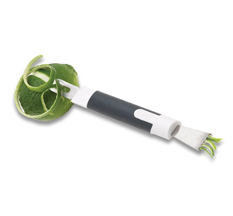 קולפן משולב סכין Neo עם ידית סיליקון עשוי נירוסטה
