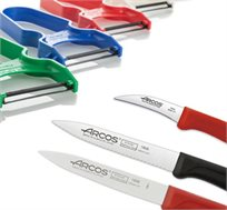 סט סכינים מבית ARCOS וקולפן ירקות מבית ZENA
