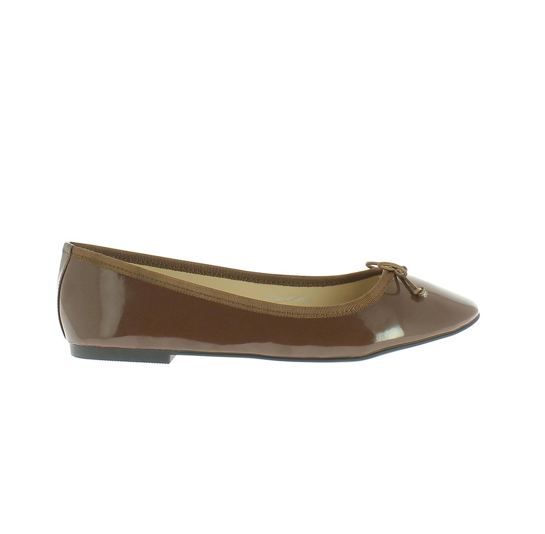 נעלי בלרינה קלאסיות MABALLERINE PARIS EVELYNE - חום שוקולד
