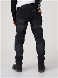 מכנסי גינס שחורים