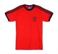 חולצת אופנה ADIDAS קליפוניה לגברים בצבע אדום