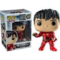 Funko Pop - The Flash No Mask Exclusive (Dc Super Heroes ) 201 בובת פופ אקסלוסיבי