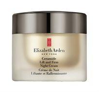קרם לילה המכיל סרמיידים למיצוק העור מסדרת ליפט אנד פירם Elizabeth Arden