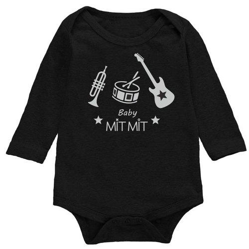 Babymitmit בגד גוף שחור