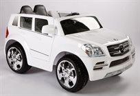 מכונית ממונעת 12V לילדים מרצדס Gl - לבן