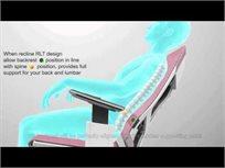 כיסא עבודה ארגונומי ואורטופדי פרימיום Genidia Comfort