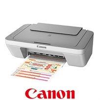 מדפסת משולבת 3 ב-1 מעוצבת ופשוטה לתפעול, מושלמת לשימוש ביתי דגם Pixma MG2450 מבית CANON