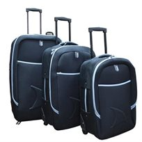 מסודרים לנסיעה! סט מזוודות יוקרתיות מסדרת מגלנו, קלות ועמידות במיוחד ב-3 גדלים, רק ב-₪399!