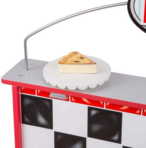 דיינר מטבח מסעדה מעץ מליסה ודאג - משלוח חינם - תמונה 6