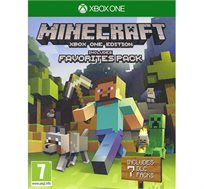 משחק  MINECRAFT FAVORITES PACK מתאים ל-XBOX ONE