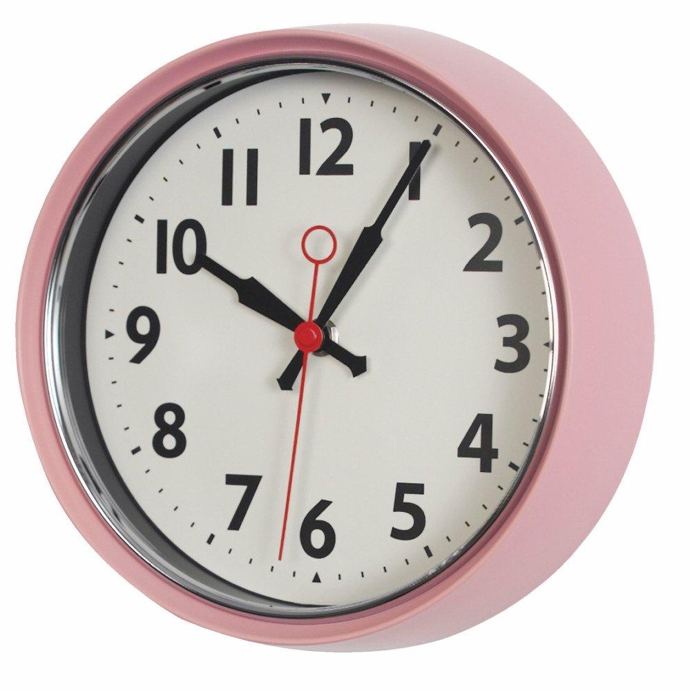 שעון קיר וינטאג' REX ב-4 צבעים לבחירה - משלוח חינם - תמונה 4