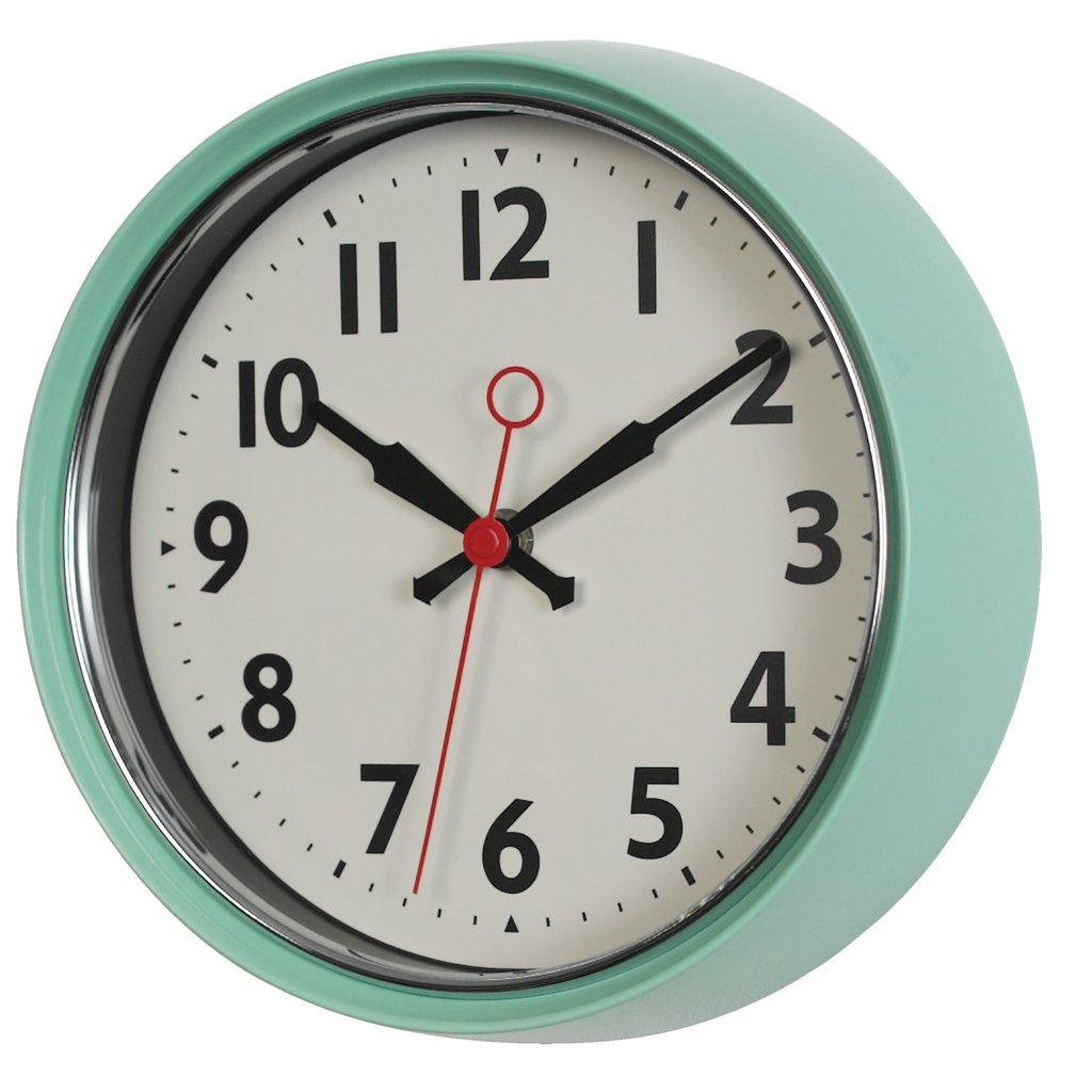 שעון קיר וינטאג' REX ב-4 צבעים לבחירה - משלוח חינם - תמונה 3