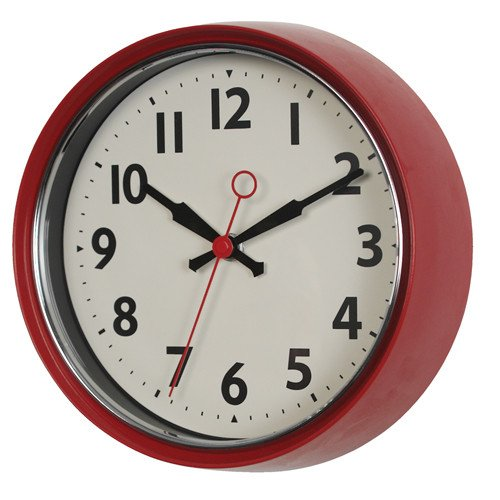 שעון קיר וינטאג' REX ב-4 צבעים לבחירה - משלוח חינם - תמונה 2