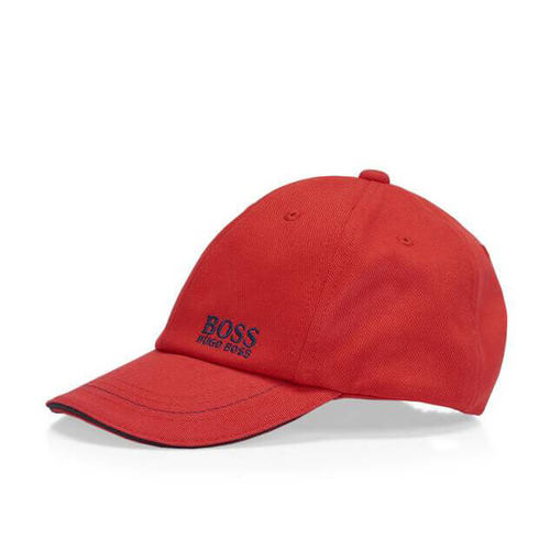 Boss / בוס כובע מצחיה לילדים - אדום