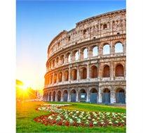 """חבילת נופש לרומא בפסח ל-4 לילות כולל טיסות ואירוח במלון 4* ע""""ב א.בוקר רק בכ-€789* לאדם!"""
