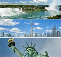 טיול מאורגן ל-6 ימים משולב שופינג בניו יורק כולל טיסות ומלון החל מכ-$1750*