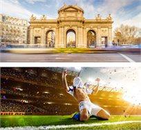 4 לילות במדריד בפסח כולל כרטיס למשחק ריאל מדריד מול אתלטיקו מדריד החל מכ-€884*
